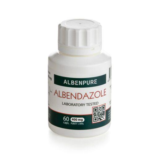 100% albendazole capsules Manufactured